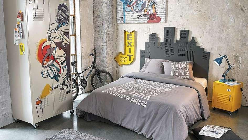 Dormitorios juveniles para chicos refugios para - Decoracion juvenil paredes ...